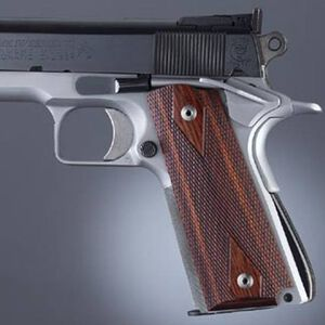 Hogue Extreme Fancy Wood Grips 1911 Full Size Rosewood Laminate 45511
