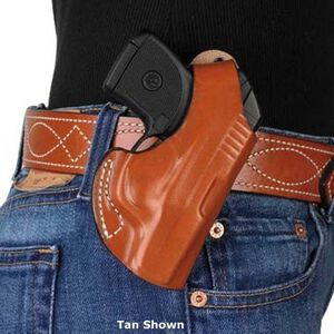 DeSantis Maverick Belt Holster Ruger LCP with LaserMax Right Hand Leather Black 012BAQ2Z0