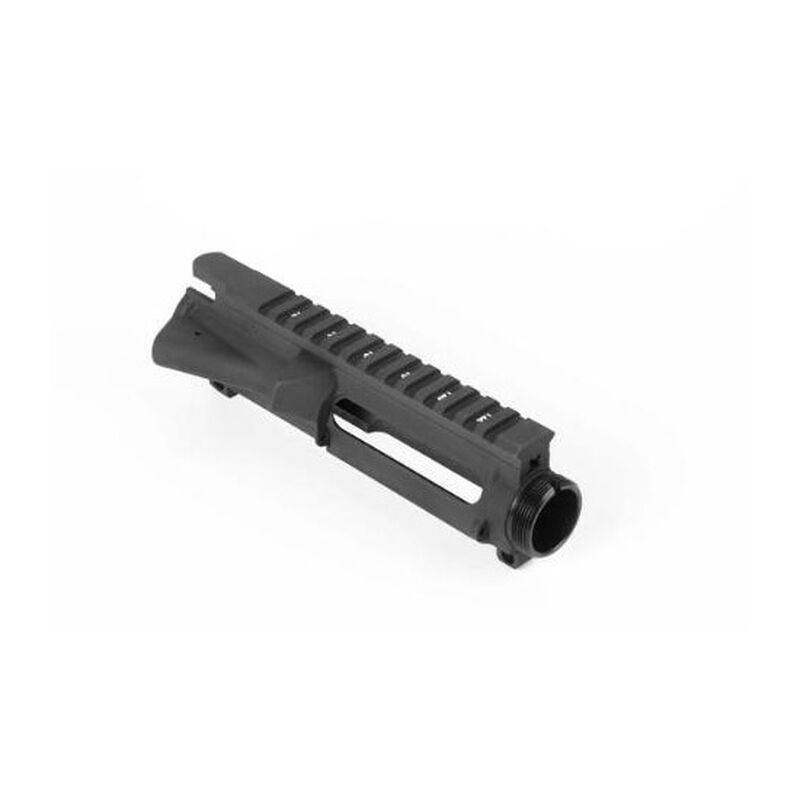 LBE Unlimited AR-15 Stripped Upper Receiver Flattop M4 Feed Ramps 7075 T6 Aluminum Type 3 Hard Coat Anodizing Matte Black ARSTUP