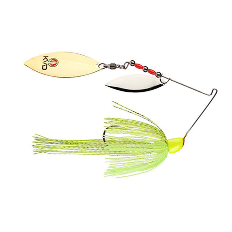 Strike King KVD Finesse Spinnerbait Lure 1/2oz Super Chartreuse Per 1