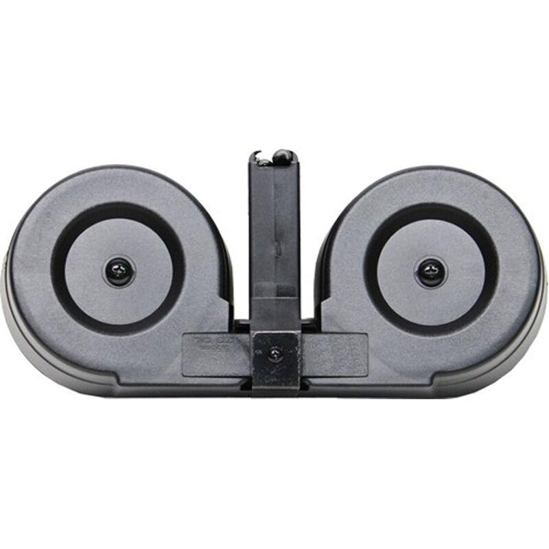 Iver Johnson AR-15 Drum Magazine .223/5.56 100 Rounds Polymer Black MAGAR15100C