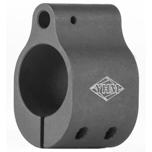 YHM AR-15 Low Profile Gas Block Steel Matte Black