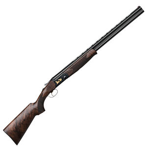 """IFG/F.A.I.R SLX 600 De Luxe Black Over/Under Shotgun 12 Gauge 28"""" Barrels 3"""" Chamber 2 Round Capacity Automatic Ejector Single Selective Trigger Wooden Stock/Forend All Black Finish"""