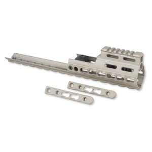 Midwest Industries SCAR Rail Extension KeyMod Aluminum Flat Dark Earth MI-S1617-K-FDE