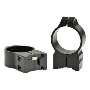 Warne Rings Ruger No. 1, Mini 14 and Blackhawk 30mm Diameter Medium Matte Finish Black 14RM