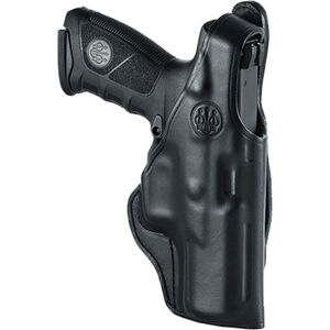 Beretta Mod.04 for APX Series OWB Belt Holster with Thumb Break Right Hand Leather Black