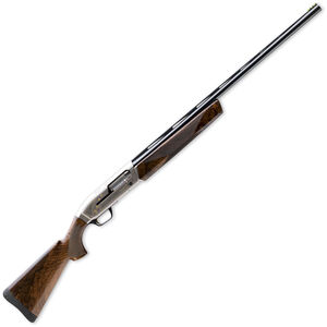 "Browning Maxus Sporting Golden Clays Semi Auto Shotgun 12 Gauge 30"" Barrel 3"" Chamber Walnut Stock Nickel Finish Gold Engravings 011635303"