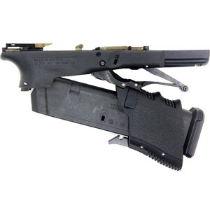 Full Conceal M3D G19 Gen 3 Lower Receiver Polymer Folding Semi Auto Pistol Frame Black