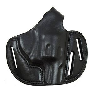 "Biacnchi Shadow II Pancake Holster for S&W J Frame 2"" Leather Black Right Hand"