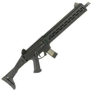 "CZ Scorpion EVO 3 S1 Carbine Semi Auto Rifle 9mm Luger 16.2"" Barrel 20 Rounds Extended M-LOK Hand Guard Collapsible/Folding Stock Polymer Frame Matte Black Finish"