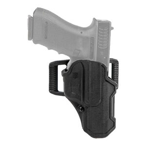 BLACKHAWK! T-Series LVL 2 Compact Belt Holster for GLOCK 21 Right Hand Black