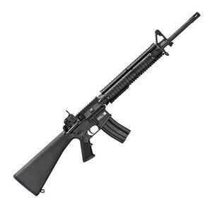 """FNH USA FN15 Military Collector M16 Semi Automatic Rifle 5.56 NATO 20"""" Button Broached Chrome Lined Barrel 1:7 Twist 30 Round Knights Armament M5 RAS Adapter Rail with Rail Adapter Covers Fixed A2 Rifle Stock Black 36320"""