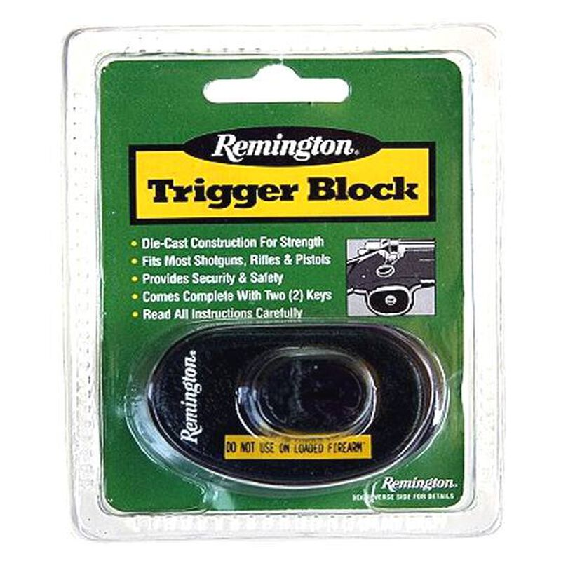 Remington Trigger Block Steel Black 18491