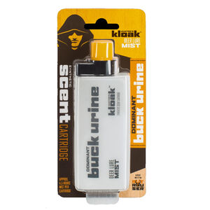 Hunters Kloak Buck Urine Scent Cartridge for Misters and Rouser 2.5floz