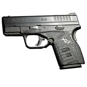 Talon Grips Adhesive Grip Springfield XDS With Small Backstrap Granulated Rubber Black 207G