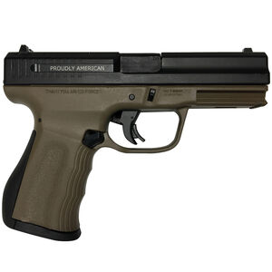 "FMK 9C1 Elite Semi Auto Pistol 9mm Luger 4"" Barrel 14 Rounds Optic Ready Slide Burnt Bronze"