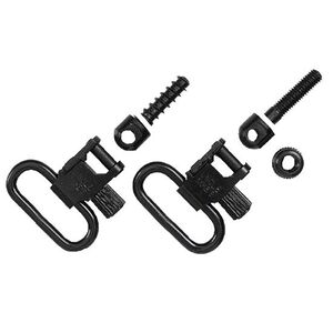 "Uncle Mike's Quick Detach 1"" Super Swivels Metal Black 1001-2"