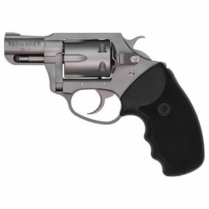 "Charter Arms Pathfinder Revolver Handgun .22 Long Rifle 2"" Barrel 6 Rounds Rubber Grips Stainless Steel Frame"