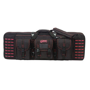 "Voodoo Tactical 36"" Padded Weapons Case Nylon Black/Pink"
