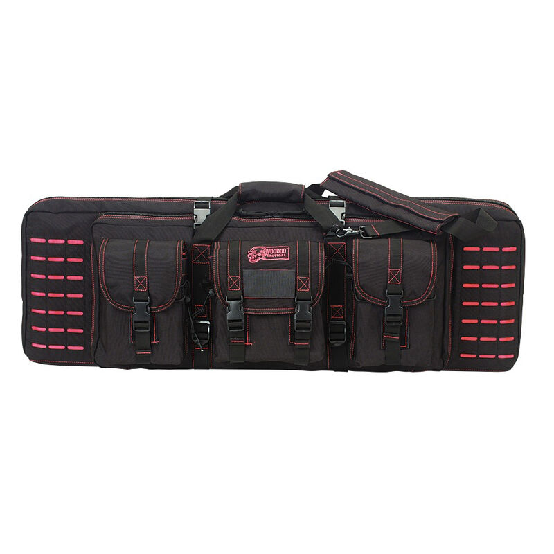 """Voodoo Tactical 36"""" Padded Weapons Case Nylon Black/Pink"""