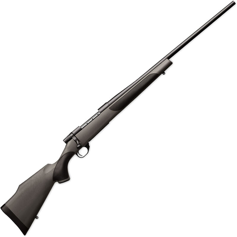 """Weatherby Vanguard Synthetic Bolt Action Rifle .300 Wby Mag 26"""" Barrel 3 Rounds Synthetic Stock Matte Blued Finish"""