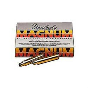 Weatherby .257 Weatherby Magnum Unprimed Brass Cases 20 Count BRASS257
