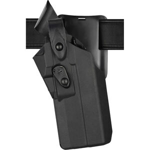 Safariland Model 7365RDS 7TS ALS/SLS Duty Holster Fits GLOCK 19 MOS with TLR-1 or Similar Lights and Trijicon RMR or Similar Red Dots Left Hand LVL III Low-Ride SafariSeven Plain Black