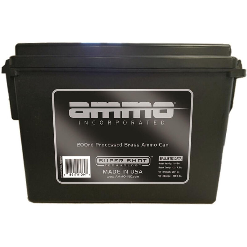 Ammo Inc. Signature 9mm Luger 115 Grains TMC 200 Rounds in an Ammo Can 9115TMC-RB200
