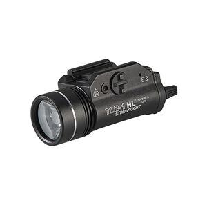 Streamlight TLR-1 HL Weapon Light LED Long Gun Kit CR123A Batteries/Dual Remote Pressure Switch Aluminum Black 69889