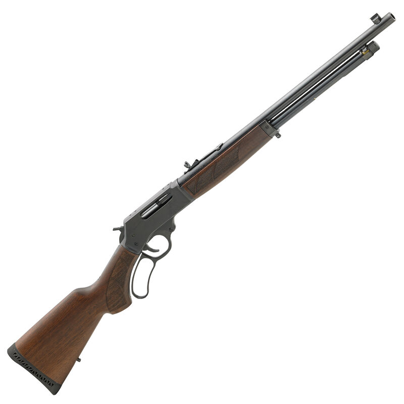 """Henry Repeating Arms .410 Bore Lever Action Shotgun 24"""" Barrel 5 Round Capacity Blued Steel Receiver American Walnut Stock Blued Finish"""