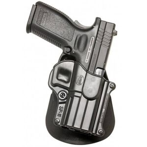 Fobus Paddle Holster H&K/Springfield/Taurus Right Hand Polymer Black SP11