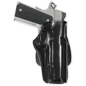 Galco CCP Paddle Holster GLOCK 26 27 and 33 Right Hand Leather Black CCP286B