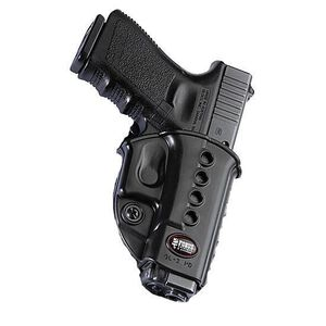 Fobus Evolution Holster CZ 97B/S&W M&P Shield/Taurus 709/Walther PPS Right Hand Belt Attachment Polymer Black
