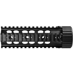 """Barska AR-15/M-4 Quad Picatinny 6.75"""" Free Float Black AW11736"""