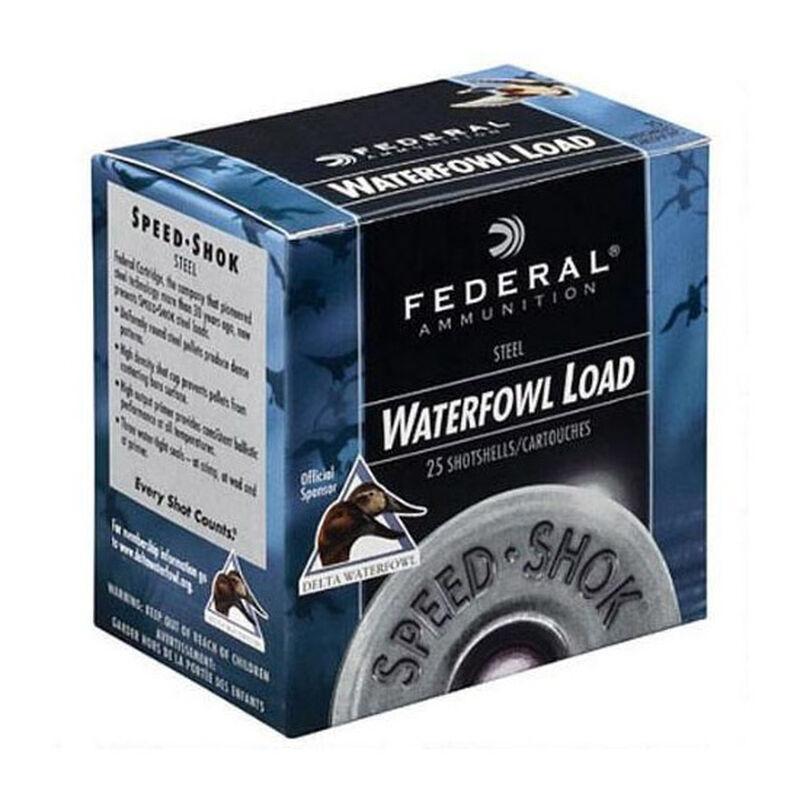 """Federal Speed-Shot 10 ga 3-1/2"""" #2 Steel 1-1/2oz 25 Rnd Box"""