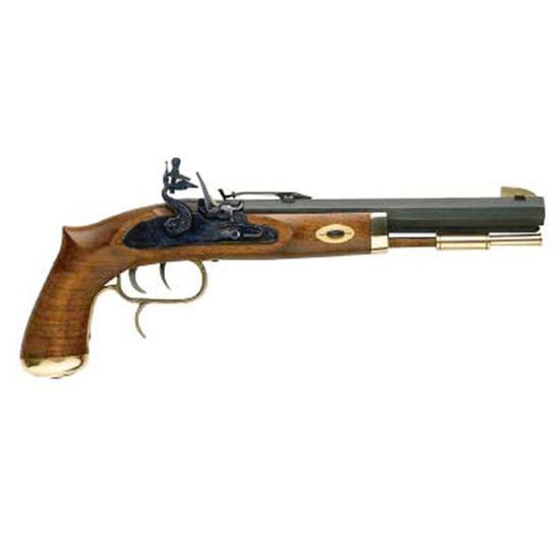 Traditions Trapper Black Powder  50 Caliber Flintlock Pistol 9 75