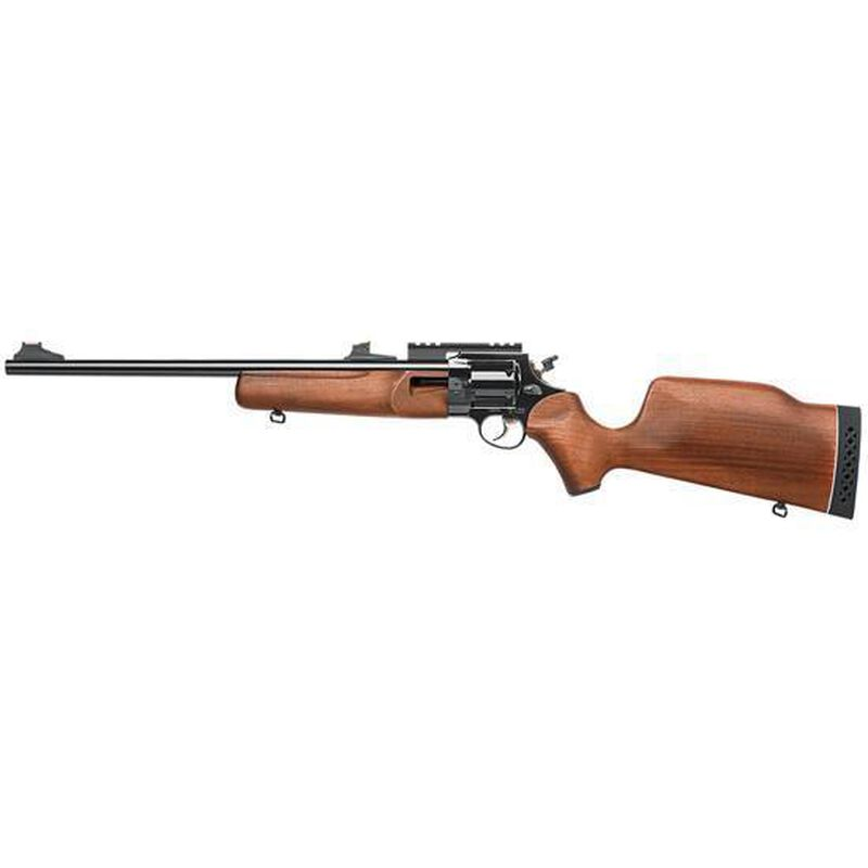 """Rossi Circuit Judge Revolving Rifle .44 Magnum 18.5"""" Barrel 6 Rounds Wooded Stock Blued Finish SCJ44MB"""