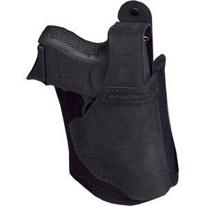 Galco Ankle Lite Ankle Holster Right Hand Fits S&W Shield 9/40 Leather Black
