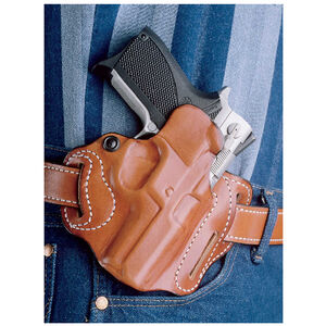 DeSantis Speed Scabbard Belt Holster S&W M&P Shield 45 Right Hand Tan