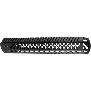 "Seekins Precision MCSR V2 AR-15 Free Float Handguard 12"" KeyMod Aluminum Black 10530007"