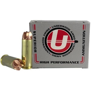 Underwood Ammo .45 Colt Ammunition 20 Round Box 135 Grain Solid Copper 1410 fps