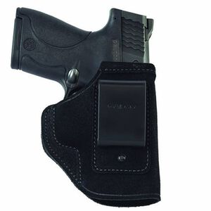 Galco Stow-N-Go GLOCK 42 IWB Holster Right Hand Leather Black