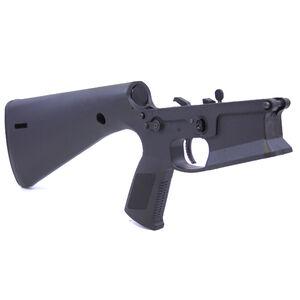 KE Arms KP-15 AR-15 Complete Lower Receiver 5.56 NATO Pistol Grip/Stock Injection Molded Glass Filled Nylon Matte Black Finish
