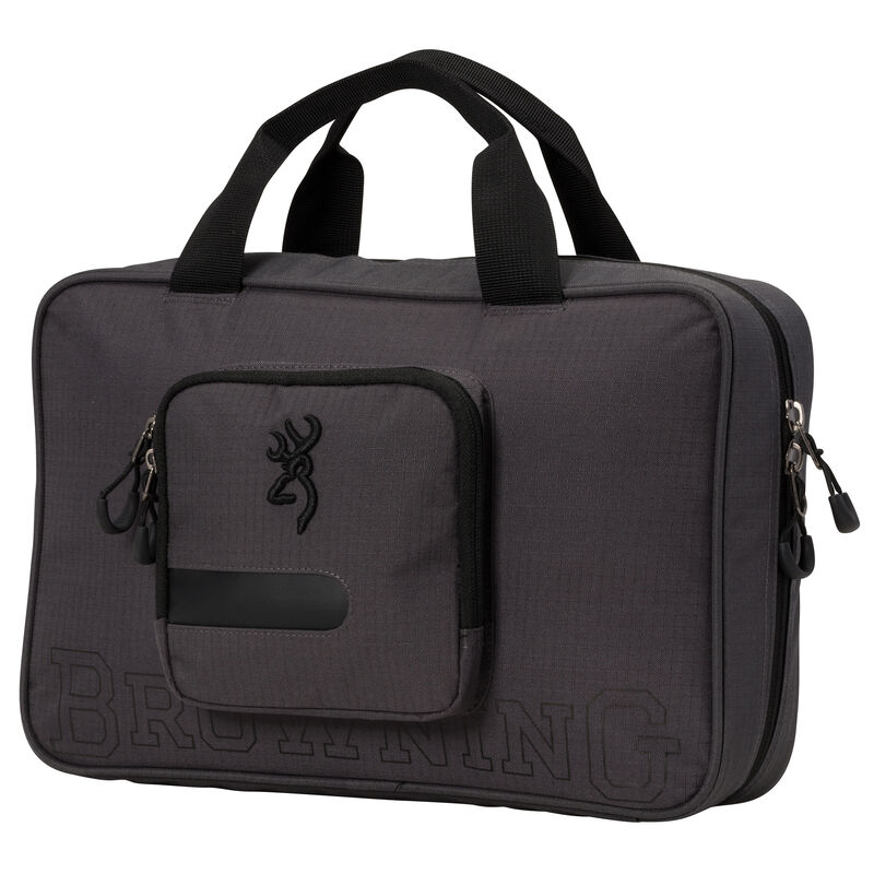Browning Range Pro Pistol Case Charcoal