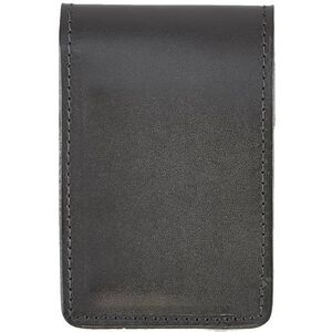 Aker Leather Notebook Cover 3x5 Inches Black