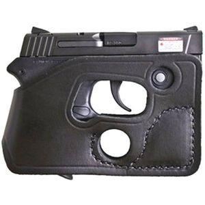 Desantis Pocket Shot Pocket Holster S&W Bodyguard .380 with Integrated Laser Ambidextrous Black Leather 110BJU7Z0