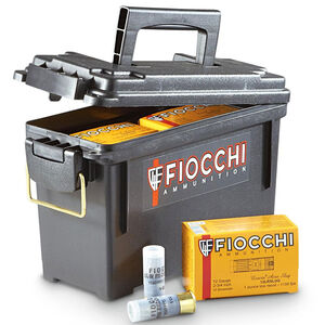 "Fiocchi 12 Gauge Ammunition 80 Rounds Low Recoil Lead Slug 2.75"" 1.00 oz."