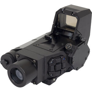 Steiner CQT Close Quarters Thermal Rifle Sight / Red Dot 1x 18mm OLED Display Picatinny Rail Mount 185650 or CR123A Batteries Aluminum Black