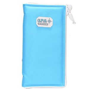 "G Outdoors G.P.S. Pistol Sleeve Large Padded Nylon 6.75""x12"" Robins Egg Blue"