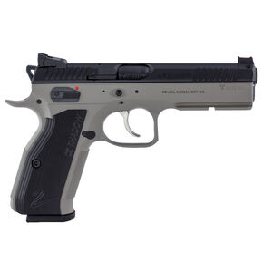 "CZ Shadow 2 Urban Grey Semi Auto Pistol 9mm Luger 4.89"" Barrel 17 Rounds Aluminum Grips Black Slide/Urban Grey Frame Finish"